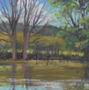 Tree Of Life Landscape Art Print