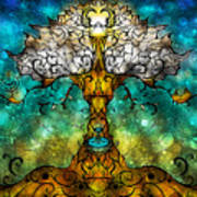 Tree Of Life Art Print by Mandie Manzano