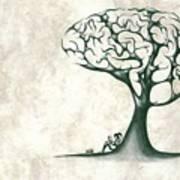 Tree Of Lknowledge Art Print