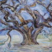 Tree Of Natural Music Art Print
