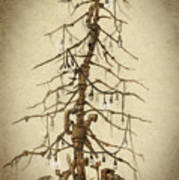 Tree Of Rust Art Print