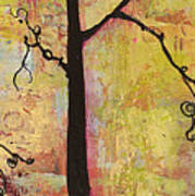 Tree Print Triptych Section 2 Art Print by Blenda Studio