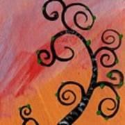 Tree V Wr Art Print