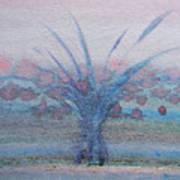 Tree With Balls Four Art Print