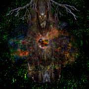 Tree Wizard Art Print