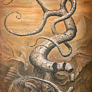 Treehensile Art Print