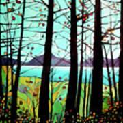 Trees In Fall Art Print