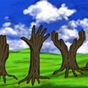 Trees #0078 Art Print