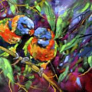 Treetop Rascals Art Print