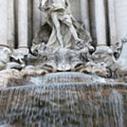 Trevi Fountain Rome Art Print