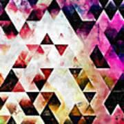 Triangles Autumn Art Print