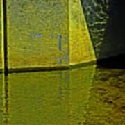 Triangles, Rectangles Lines And Refletcions  Art Print