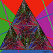Triangular Thoughts Art Print