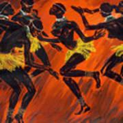 Tribal Dance Art Print