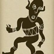 Tribal Dancer Art Print