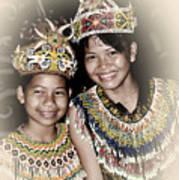 Tribal Girls Art Print