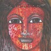 Tribal Woman Art Print