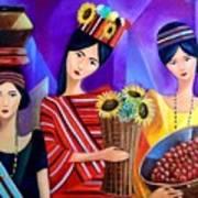 Tribal Women Art Print