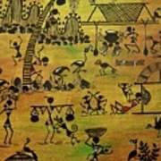 Tribals I Art Print