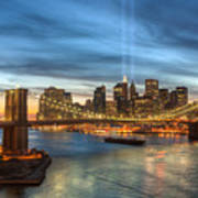 Tribute In Light I Art Print by Clarence Holmes