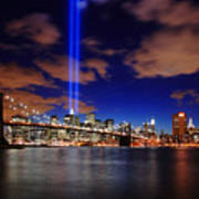 Tribute In Light Art Print