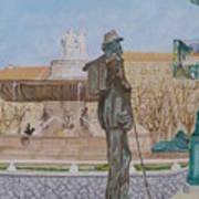 Tribute To Cezanne Art Print
