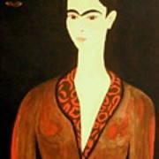 Tribute To Frida Art Print