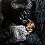 Tribute To Koko Art Print