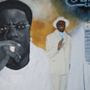 Tribute To Mr. Bernie Mac Art Print