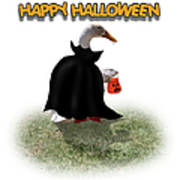 Trick Or Treat For Count Duckula Art Print