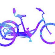 Tricycle Art Art Print