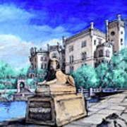 Trieste  Castello Di Miramare Art Print