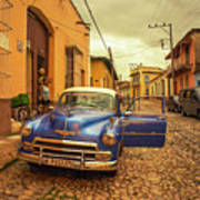 Trinidad Chevy Blues  Art Print