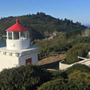 Trinidad Head Memorial Lighthouse, California Lighthouse Art Print
