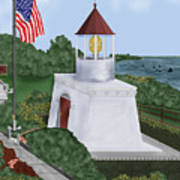 Trinidad Memorial Lighthouse Art Print