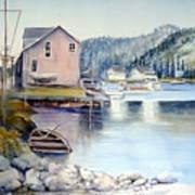 Trinity Bay Nfld Art Print