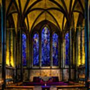 Trinity Chapel Salisbury Cathedral Art Print
