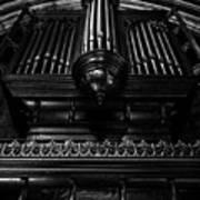 Trinity Church Pipe Organ Art Print
