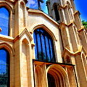 Trinity Episcopal Cathedral Columbia Sc Art Print