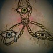 Trinity Eyes Art Print