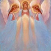 Trinity Of Angels Art Print