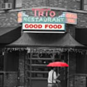 Trio Restaurant Art Print