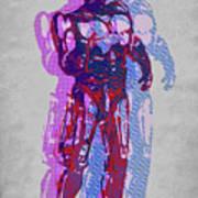 Triple Robocop Rbp Art Print