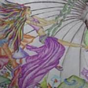 Trippin The Light Fandango Art Print