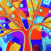 Trippy Tree Art Print