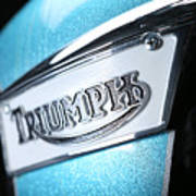 Triumph Badge Art Print