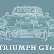 Triumph Gt6 Plus Art Print