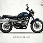 Triumph Scrambler 900 Art Print