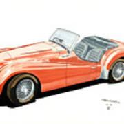 Triumph Tr2 Art Print