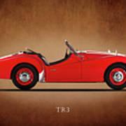 Triumph Tr3a 1959 Art Print